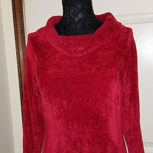 Previously loved deep red sweater